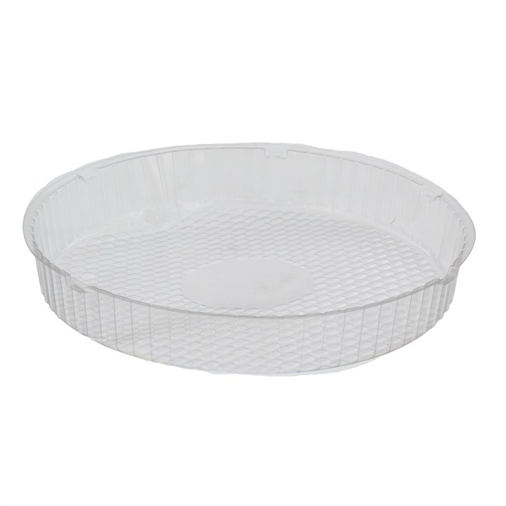 CLEAR PLASTIC PANCAKE TRAY