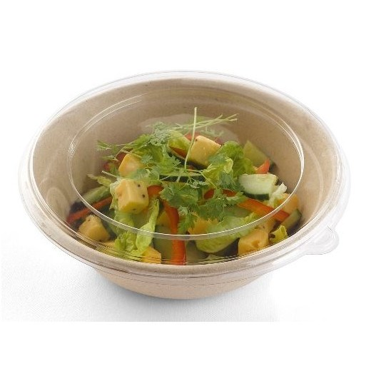 CLEAR ROUND PLASTIC LID FOR 1000CC BEPULP BOWL PUL51932