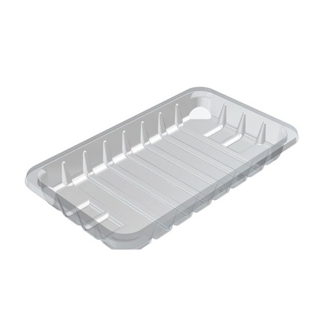 C3E CLEAR PADDED FOOD TRAY 220 X 130 X 38MM