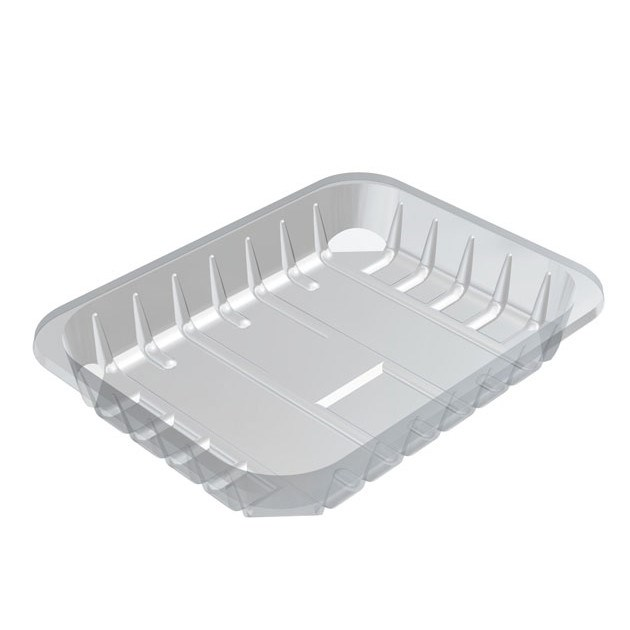 S4/35 CLEAR FOOD TRAY 220 X 170 X 35MM