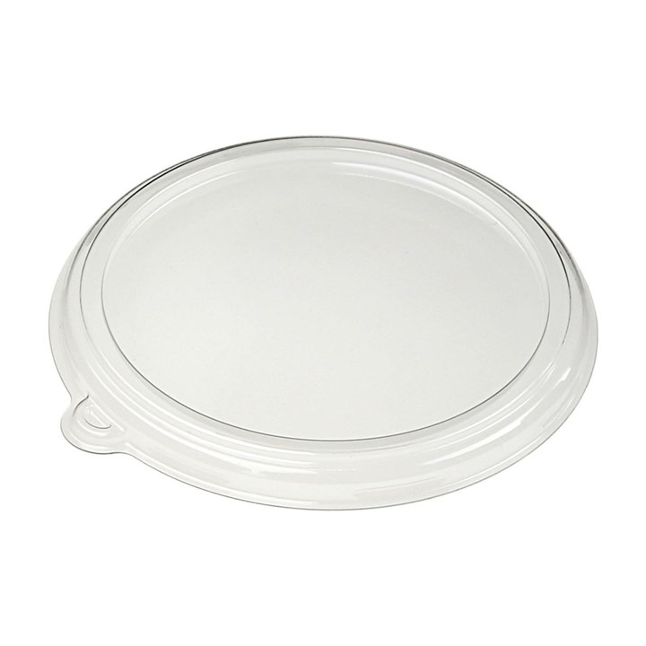 500ML COMPOSTABLE ROUND PULP BOWL LID