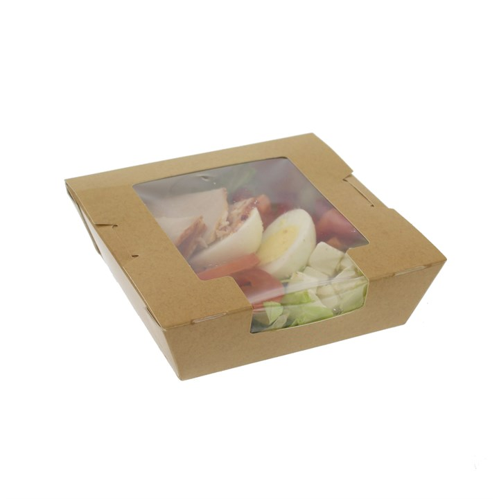 Short Life Kraft Food Box 120 x 120 x 45mm