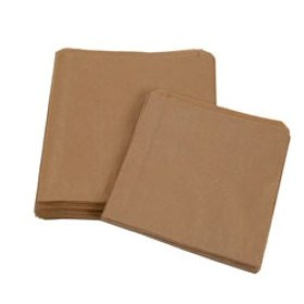 BROWN KRAFT SMALL PORTION BAG PP LINED 180 X 50 X 180MM
