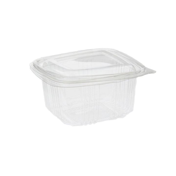 SQUARE PLASTIC SALAD CONTAINERS