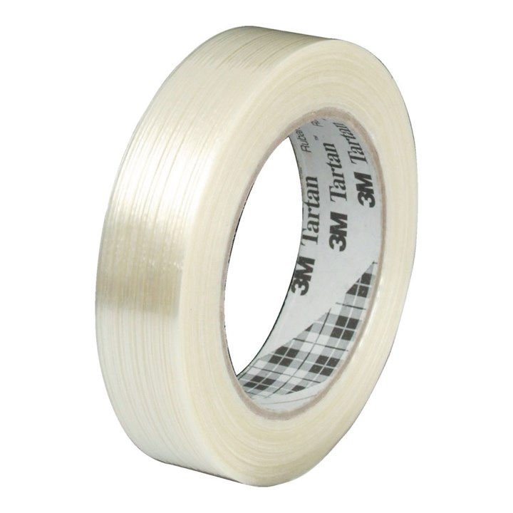 3M SCOTCH 8954 CROSSWEAVE REINFORCED TAPE 25MM X 50M ROLL