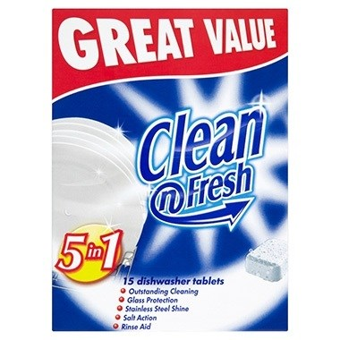 CLEAN N FRESH DISHWASHER TABLETS