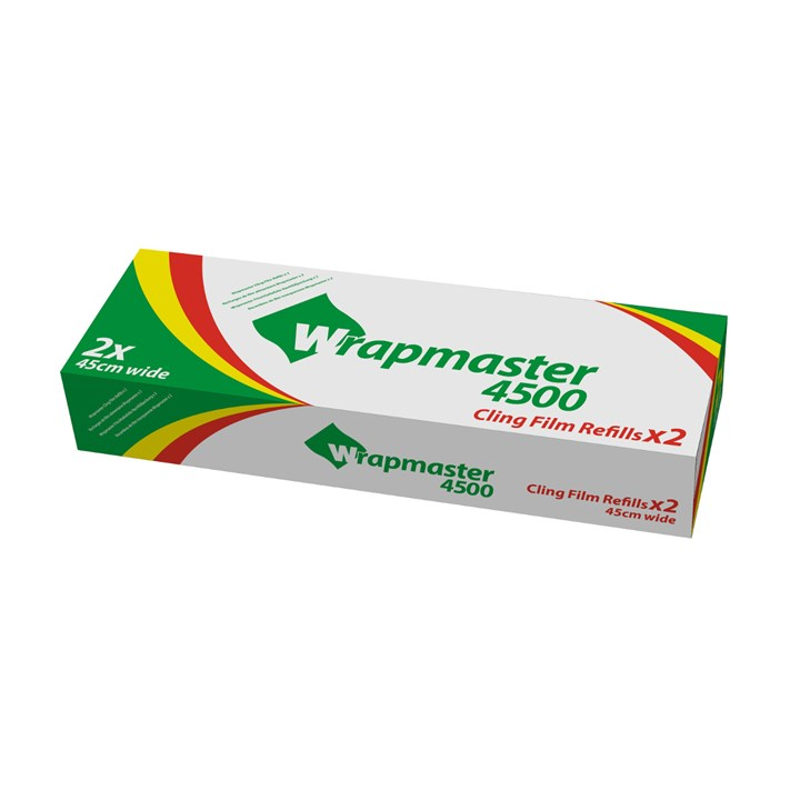 WRAPMASTER 450MM CATERING CLING FILM REFILL FOR WM4500 300M