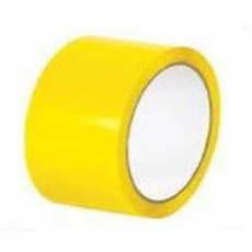 OLYMPIA YELLOW ACRYLIC TAPE 48MM X 66M ROLL
