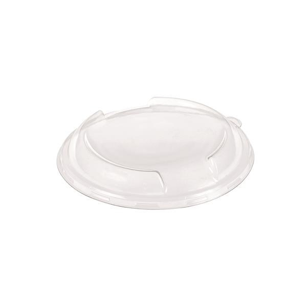 NATURESSE COMPOSTABLE PLA CLEAR DOME LID TO FIT ZE15549  ZE15550