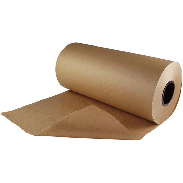 900MM X 500M IMITATION KRAFT FILLER PAPER ROLL 50GSM