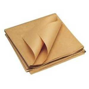 1150MM X 1400MM MG RIBBED PURE KRAFT SHEETS 90GSM