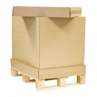 TRAY, CAP & SLEEVE PALLETISED CONTAINERS