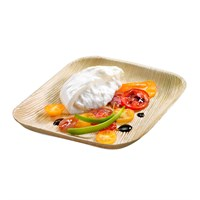Naturesse Palm Leaf Compostable Square Plate