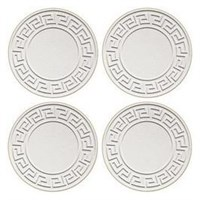 WHITE PAPER COASTERS 82MM 6PLY