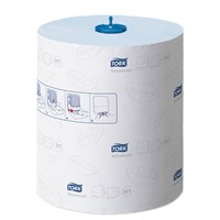 TORK MATIC BLUE HAND TOWEL ROLL H1 ADVANCED BLUE CM X 150M