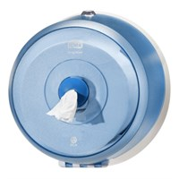 TORK SMARTONE MINI TOILET ROLL DISPENSER BLUE