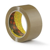 3M SCOTCH 371 BROWN POLY PACKING TAPE 48MM X 66M ROLL