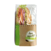 Snack Bag Fifty Fifty Printed Sandwich Wrap 21.5 x 7.5 x 13cm
