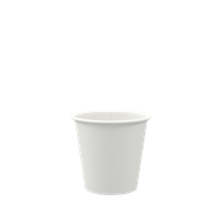 WHITE 4OZ SINGLE WALL COMPOSTABLE CUP