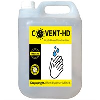 Covent HD 5Ltr Liquid Hand Sanitiser Refill