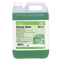 SUMA STAT D1.4 MANUAL WASHING UP LIQUID WITH EXTRA HYGIENE 5 LITRE