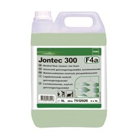 TASKI JONTEC 300 NEUTRAL PH LOW FOAM FLOOR CLEANER 5 LITRE