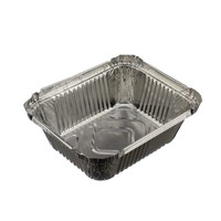NO.2 TAKEAWAY FOIL TRAY CONTAINER 4 X 5 INCH