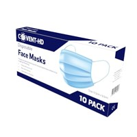 Protective Face Masks - Pack of 10