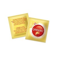 CANDEREL YELLOW LOW CALORIE SUCRALOSE SWEETENER SACHETS 0.5G