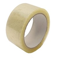 CLEAR POLY PACKING TAPE 48MM X 66M ROLL