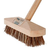 DOSCO WOODEN DECK BRUSH 9.5 INCH