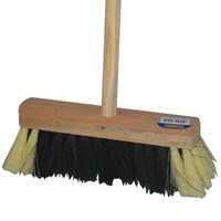 HOUSEHOLD WOODEN BRUSH 10 INCH