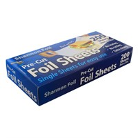 SHANNON FOIL POP-UP TIN FOIL PRE-CUT SHEETS 12 X 10.75 INCH