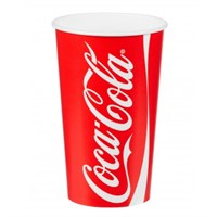 9OZ COCA COLA DISPOSABLE PAPER COLD CUPS