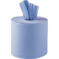BLUE CENTREFEED ROLL 2PLY 150M
