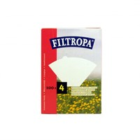 FILTROPA WHITE SIZE 4 FILTER PAPERS
