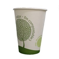 LEAFWARE 7.5OZ COMPOSTABLE PLA VENDING CUP