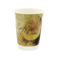 8OZ LIFETIME DOUBLE WALL DISPOSABLE COFFEE CUPS