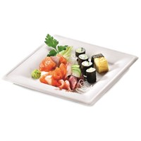 NATURESSE SUGARCANE COMPOSTABLE KARO SQUARE PLATE