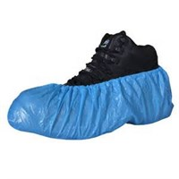 Blue Disposable Pe Overshoes