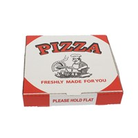 12 INCH WHITE PIZZA BOXES