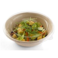 1000ML BEPULP ROUND BOWL WITH LID