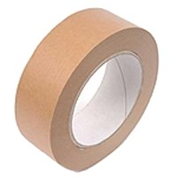 BROWN SELF ADHESIVE PAPER TAPE 50MM X 50M ROLL