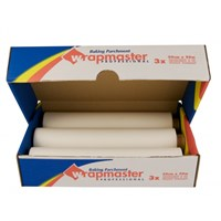 WRAPMASTER 450MM BAKING PARCHMENT CUTTER BOX 50M ROLL