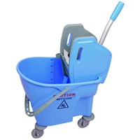 BLUE 25L BUFFALO KENTUKY MOP BUCKET AND WRINGER SET