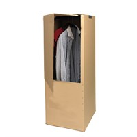 WARDROBE CARTON + BAR